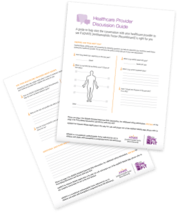 Download the discussion guide and talk to your doctor to see if ADVATE® [Antihemophilic Factor (Recombinant)] is a good choice for you